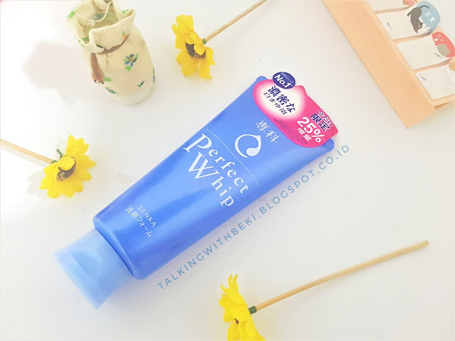 Review Shiseido Senka Perfect Whip Facial Foam