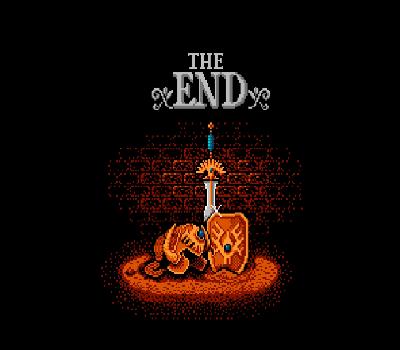 Dragon Warrior II - Fin / The End