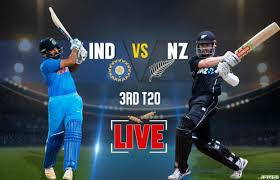Live streaming India vs NZ 3rd T20 highlights of final match
