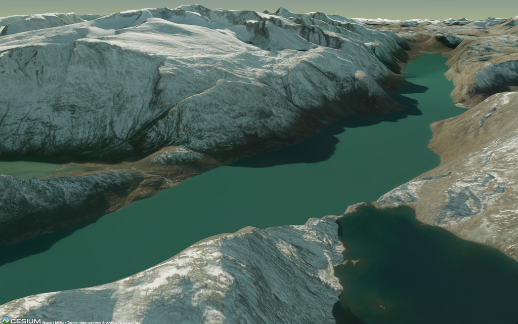 master maps: Creating 3D terrains with Cesium