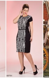 modelo de vestido tubinho estampado - dicas e fotos