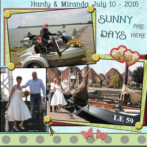 Juli 2015 Wedding Day 7-10-2015