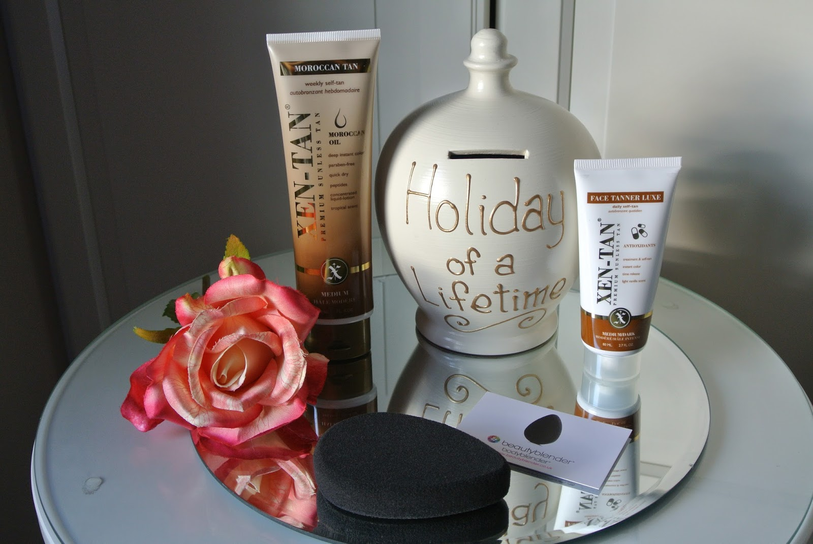 Xen Tan Moroccan Tan, Xen Tan Face Tanner Luxe and bodyblender review for a flawless tan