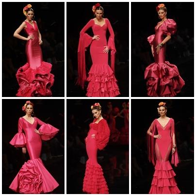 Colección Amar por amar  SUEÑO FLAMENCO Así se llama la colección de  vestidos nupciales 2012 de la diseñadora Vicky Martin Berrocal. fdffc8e2c54a