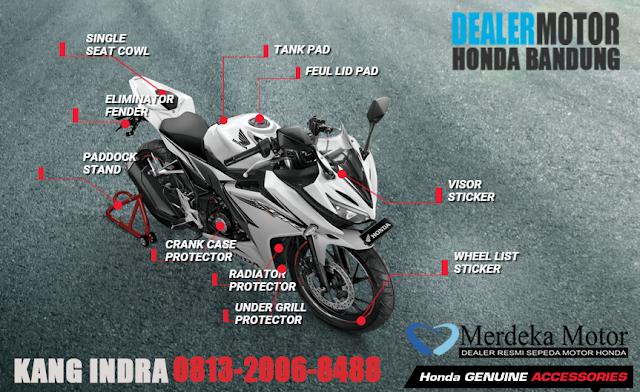 AKSESORIS HONDA CBR150 R