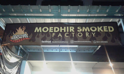 Sensasi Hidangan Jazirah Arab di Moedhir Smoked Factory