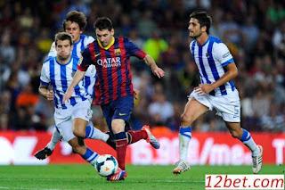 Trận cầu tâm điểm Sociedad vs Barcelona (03h15 ngày 20/1/2017)