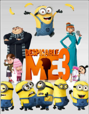 Despicable Me 3 2017 Dual Audio Org Hindi 720p Bluray 750mb