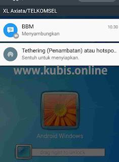 Cara Mengatasi Notifikasi Menyambungkan Di BBM Android