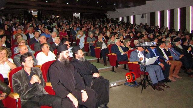 Πλήθος κόσμου στην εκδήλωση μνήμης για την Άλωση της Κωνσταντινούπολης