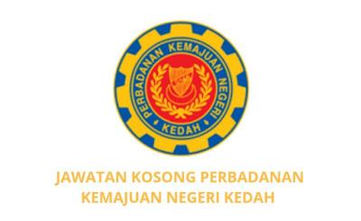 Jawatan Kosong PKNK 2019 (Perbadanan Kemajuan Negeri Kedah)
