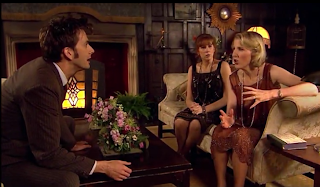 The Doctor, Donna, and Agatha Christie