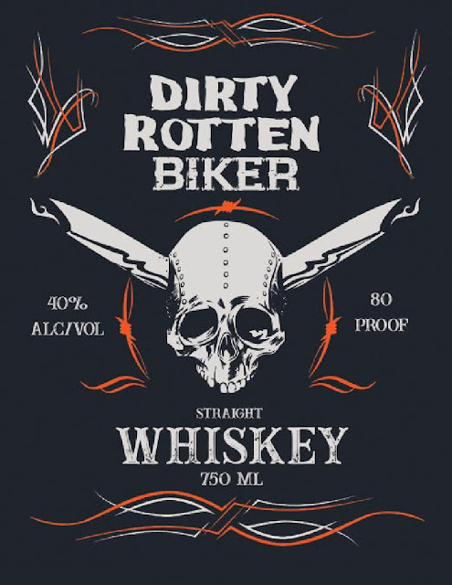 Insanti Spirits Dirty Rotten Biker Whiskey