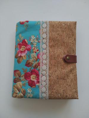 agenda, notebook case, costura, couture, sewing, funda cuaderno, protége cahier