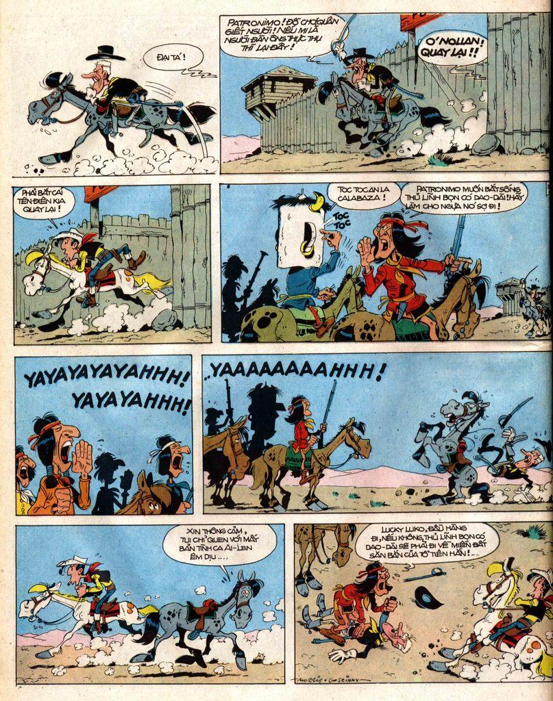 Lucky Luke tap 12 - khe vuc apache trang 38