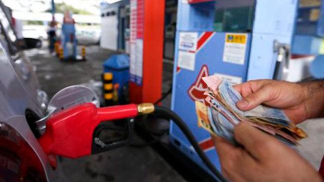 A tributação sobre a gasolina subiu R$ 0,41 por litro – Reprodução