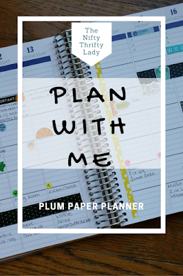Plan with me Plum Paper Family Planner Video