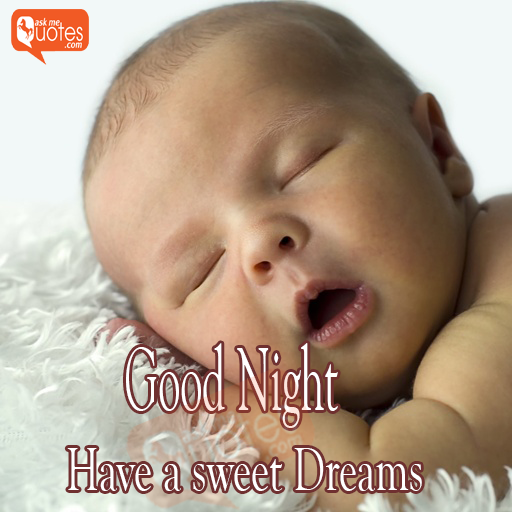 Good night baby sleeping picture with quotes and wishes with and baby sleeping picture and wishes with hd images and pictures thecheapjerseys Choice Image