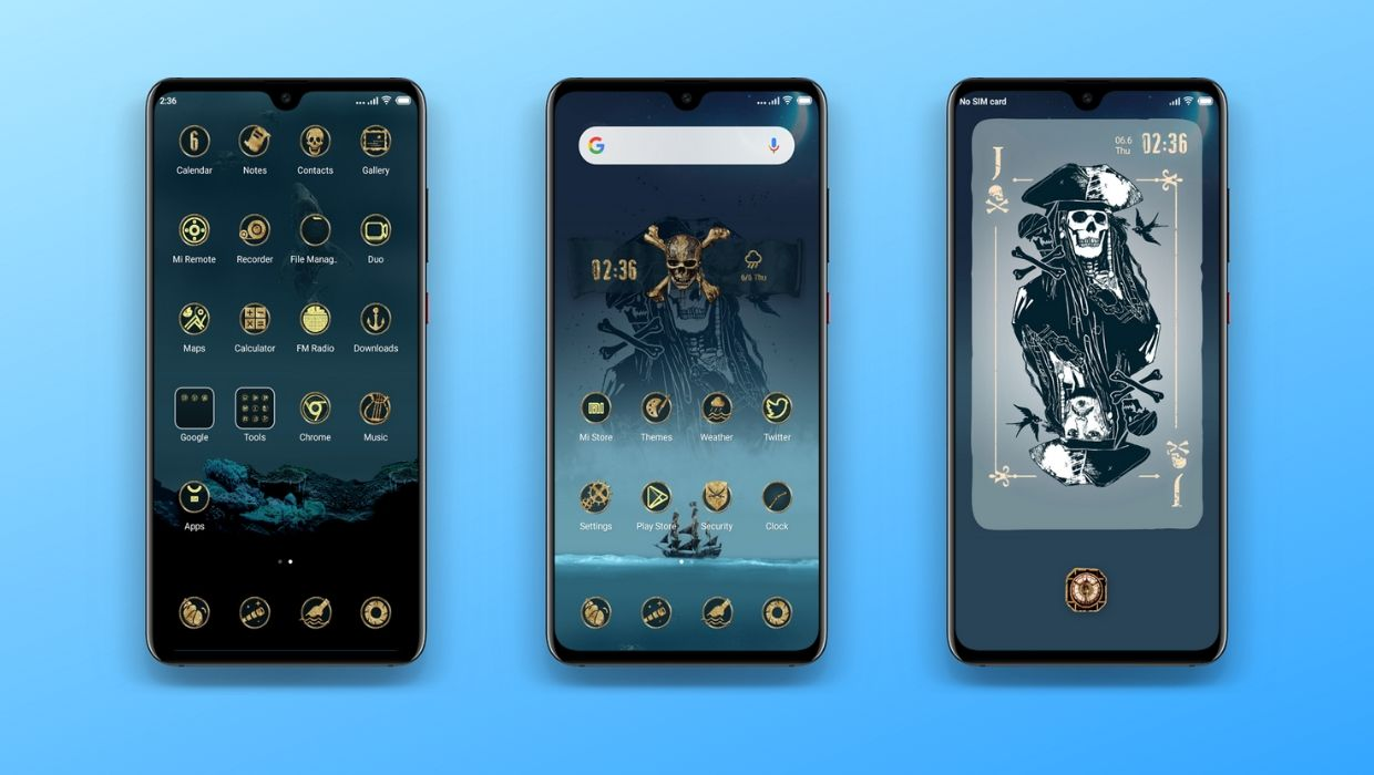 Download Pirates Of Caribbean MIUI Theme