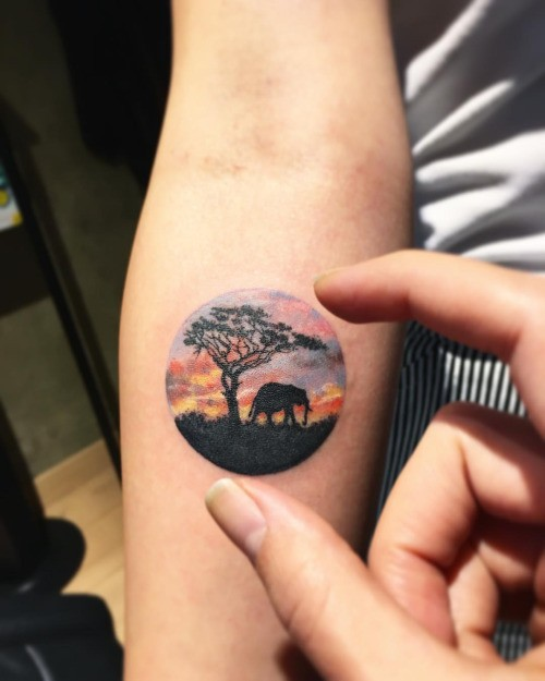 Tatuajes para antebrazo pequeños