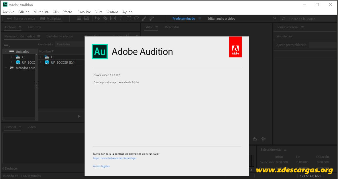 Adobe Audition CC 2019 Full Español