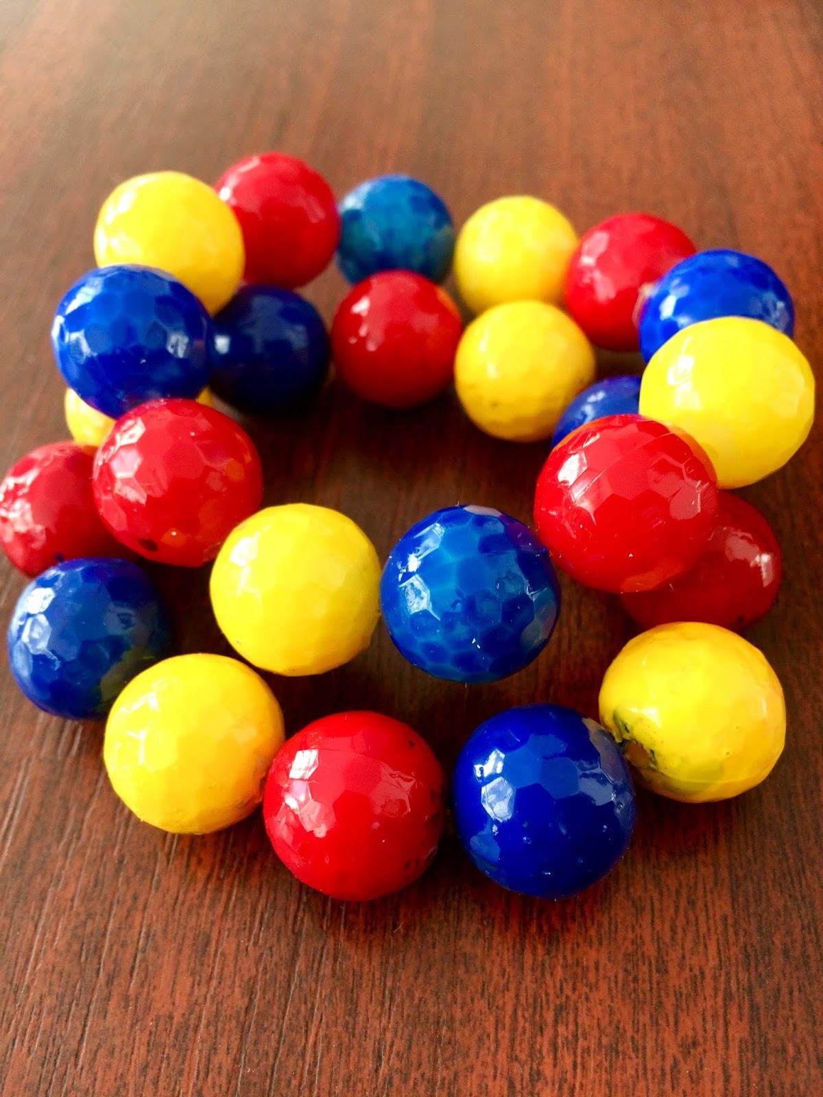 Brățări tricolore