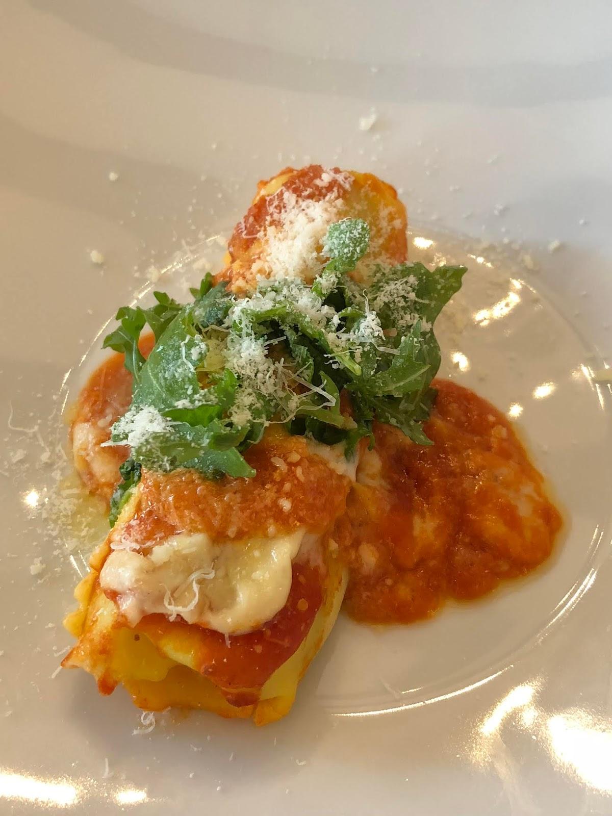 Hausgemachte Cannelloni, Restaurant Scarpati, Wuppertal
