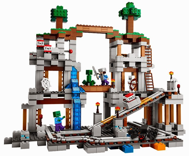 The New LEGO Minecraft sets overview The Mine 21118