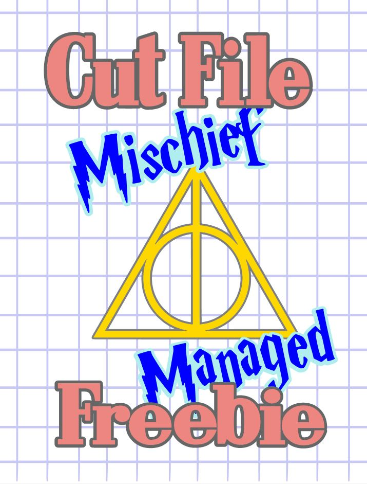 the scrapoholic   cut file freebie  2018  updated mischief managed