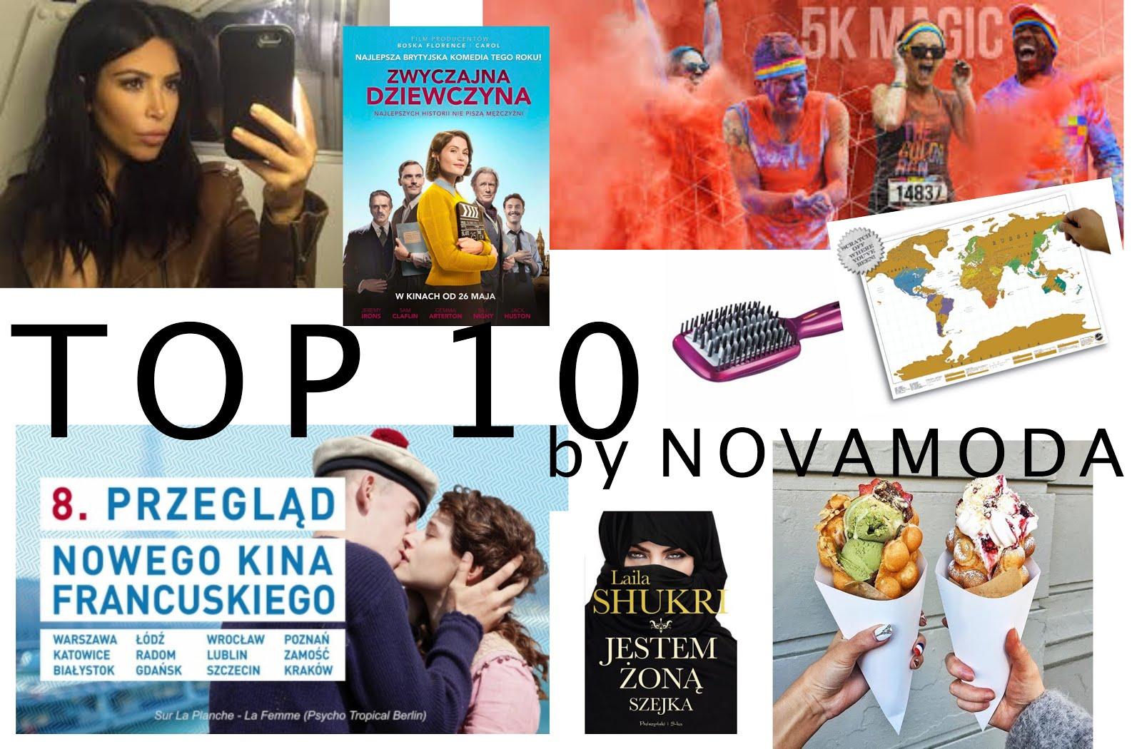 top 10, top trend, novamoda lifestyle, lifestyle, książka, filmy, lumee, młody papież, życie stewardessy, cabin crew on tour, kim kardashian