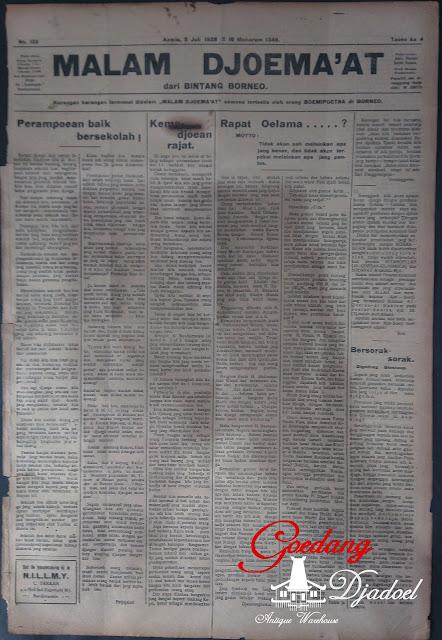 surat kabar malam jumat