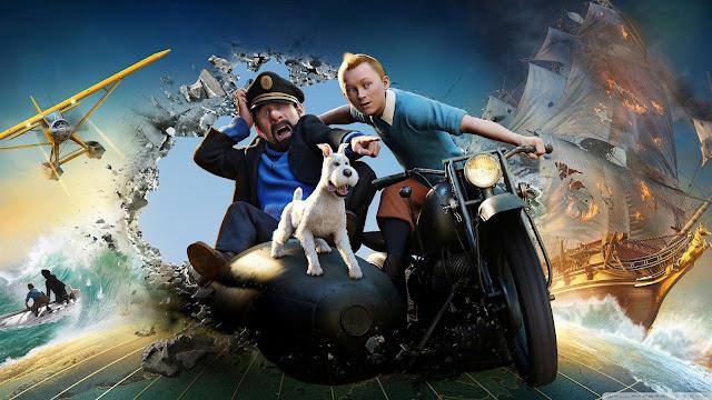 Render 3D imagen nº 5 de la película Las aventuras de Tintin: El secreto del Unicornio