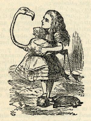 Εικονογράφηση του Τζον Τένιελ για την Αλίκη στη Χώρα των Θαυμάτων