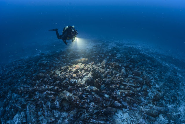 1,800 year old Roman shipwreck found off Spain's Balearic Islands
