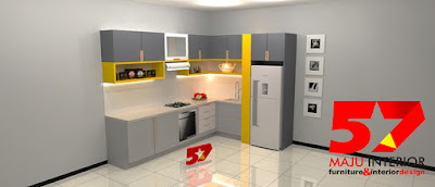 kitchen set minimalis modern murah di kediri
