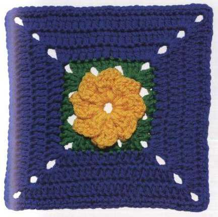 Patrón #1138: Granny a Crochet
