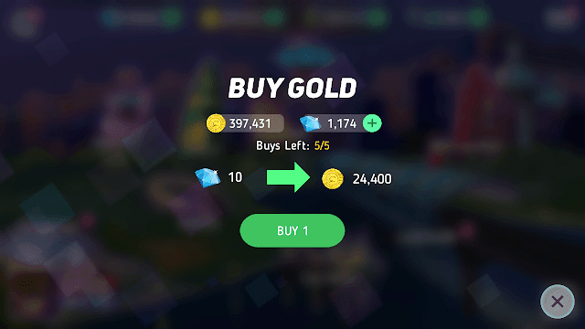 kamu dapat membeli gold