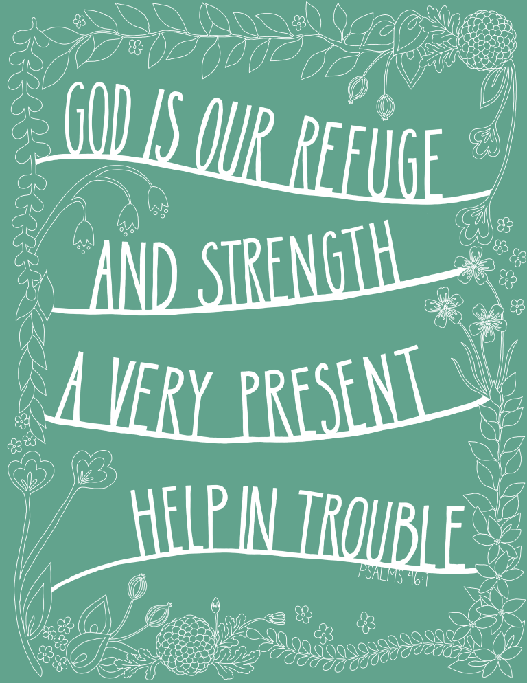 God is my refuge and strength photos