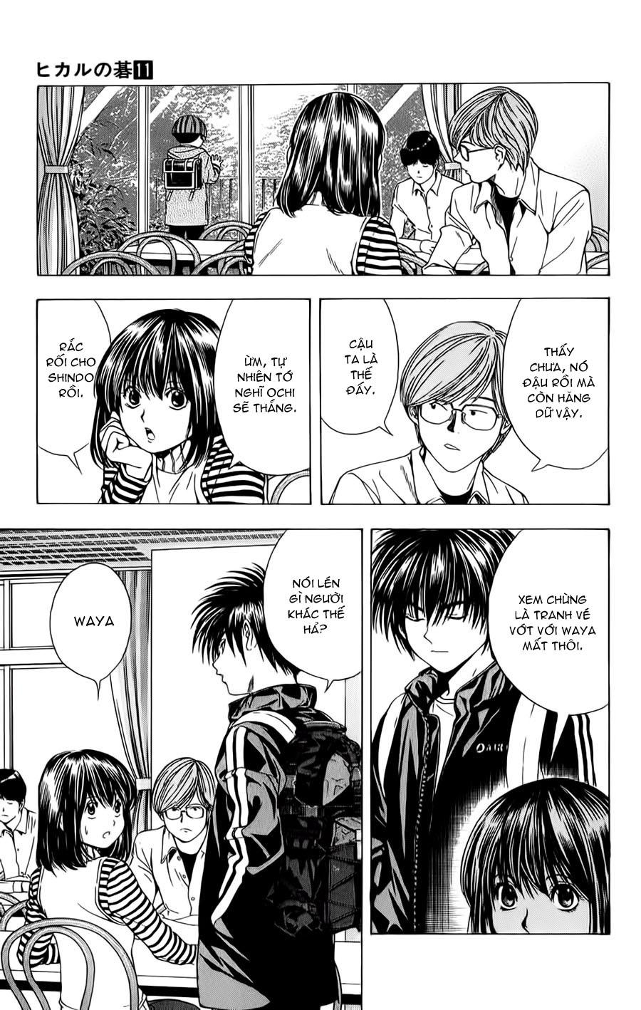 Hikaru No Go hikaru no go chap 93 trang 13