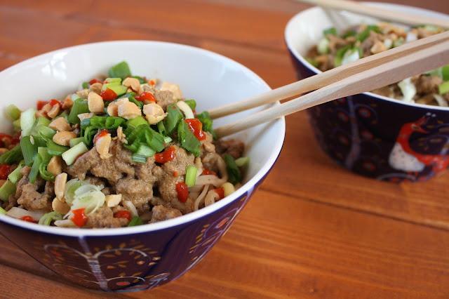 sichuan dandan dan dan nuudelit noodles kiina kiinalainen resepti ruoka