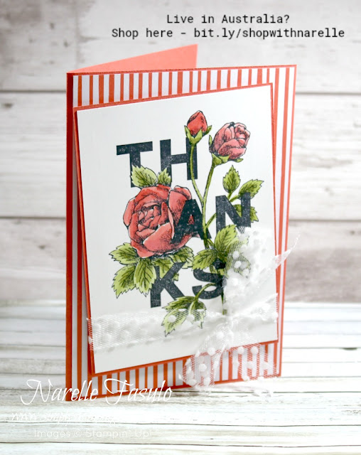 Say Thanks to someone special today with the Floral Statements stamp set - see it here - http://bit.ly/2OA7NGT