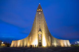 The Church of Hallgrímur; Reykjavik, Iceland