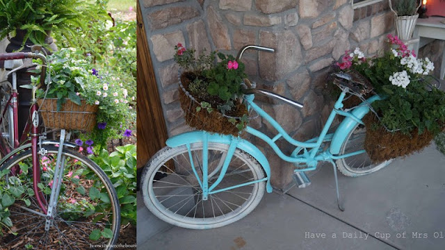 Bicycle Planters
