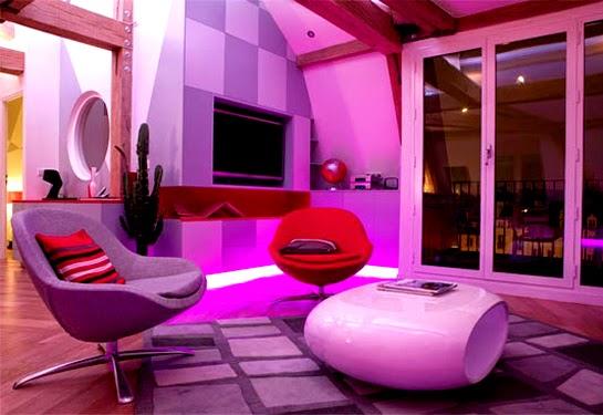 Modern Led Lights In The Interior Magic Ideas