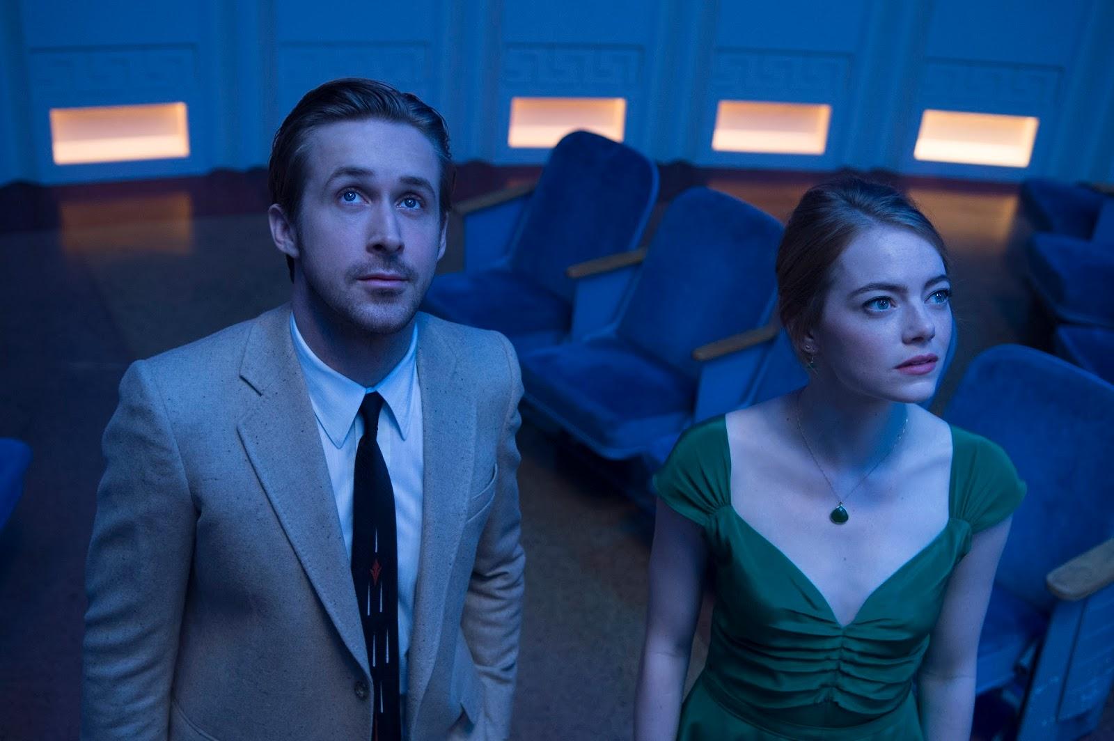 Ryan Gosling y Emma Stone - LaLaLand