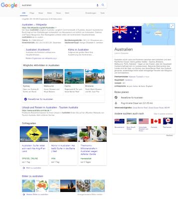 Die Universal Search bei Google