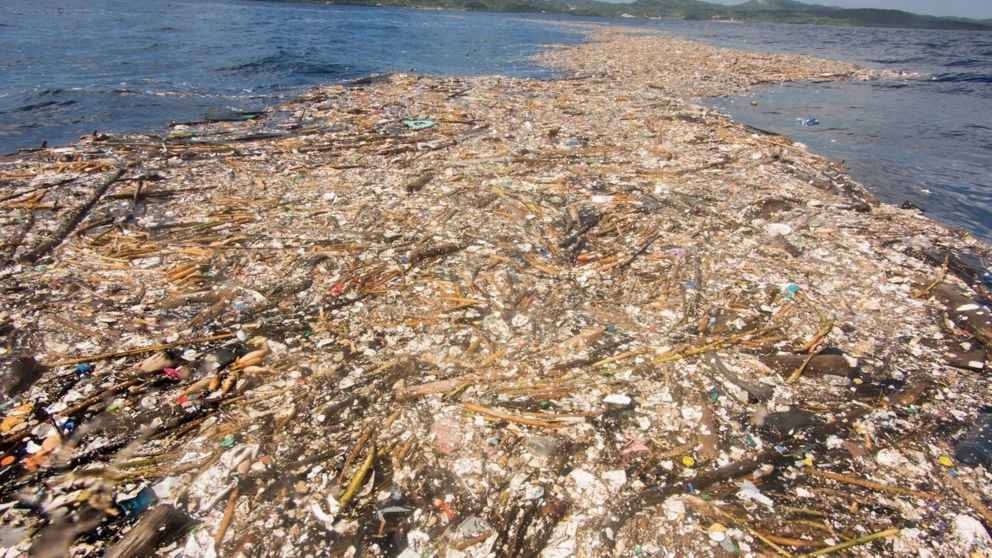 Shocking Pictures Prove How Humans Have Created A 'Sea Of Plastic'
