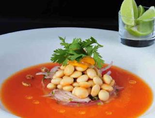 Cocina Ecuatoriana - Ceviche de chochos