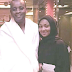 Ahmed and Zahra Indimi on their honeymoon (Photo)