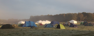 Tents at Yestival camp